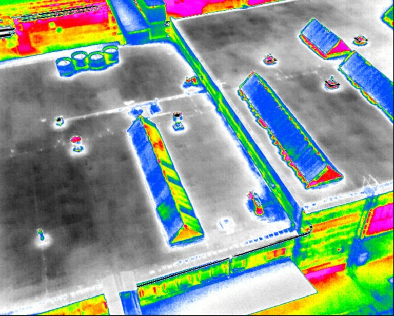 Diagnostika plochých střech